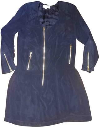 Heimstone Navy Silk Dress for Women