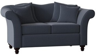 Three Posts Sophia Loveseat Upholstery Type/Color: Zander Indigo