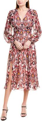 Prabal Gurung Audra Silk A-Line Dress