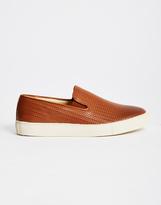 Hudson Hannuk Calf Slip-On Tan