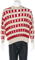 Alexander Wang Asymmetrical Striped Sweater