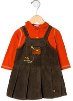 Catimini Girls' Corduroy Dress Set