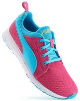 Puma Carson Runner Marble Jr. Grade School Girls' Running Shoes