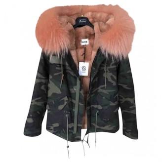 Ducie Green Coat for Women