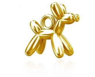 Daixa Somed Pendentif Charm Gold Balloon Dog