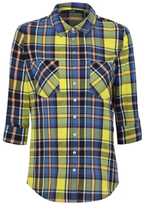 George Check Adjustable Long Sleeve Shirt