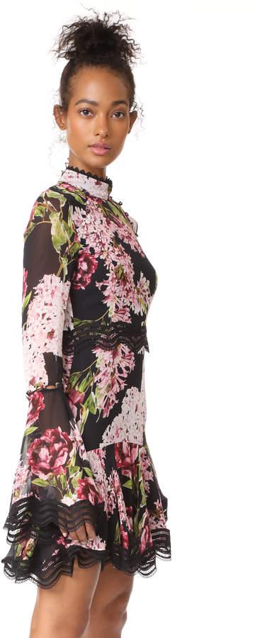 Nicholas Heather Floral Mini Dress