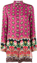Etro Floral print long sleeve shirt - women - Silk - 38