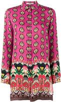 Etro Floral print long sleeve shirt - women - Silk - 42