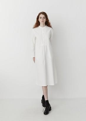 Blue Blue Japan Vintage Twill Dress White