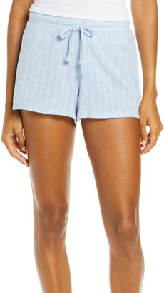 Madewell Pointelle Knit Pajama Shorts