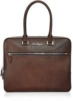 Salvatore Ferragamo Evolution Ten Forty One Slim Briefcase
