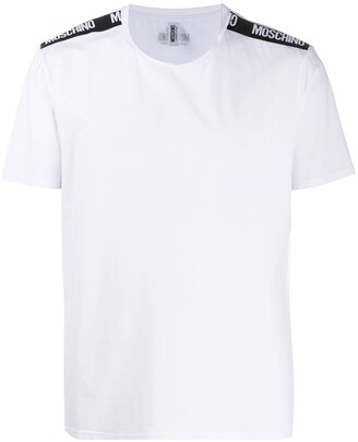 Moschino logo-tape short-sleeve T-shirt