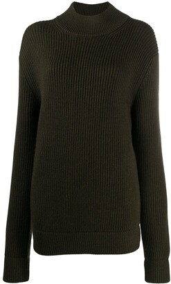 Haider Ackermann High Neck Wool Jumper