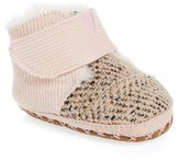 Toms Infant Girl's Cuna Crib Shoe