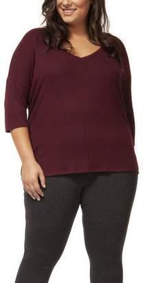 Dex 3/4 Sleeve V-Neck Sweater