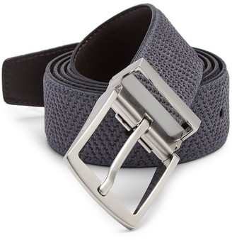 Giorgio Armani Reversible Tongue Leather Belt