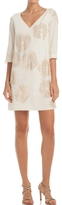 Trina Turk White Glitterati Dress
