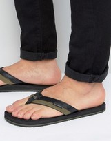 Billabong Seaway Canvas Flip Flops