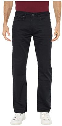 Buffalo David Bitton Six X Slim Fit Torpedo Stretch Twill in Black (Black) Men's Jeans