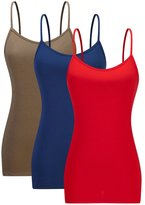 AM CLOTHES Womens Basic Tank Top 2X-Large