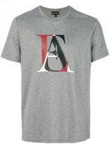 Emporio Armani logo print T-shirt - men - Cotton - S