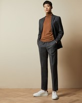 Thumbnail for your product : Ted Baker Debonair Plain Wool Suit Trousers