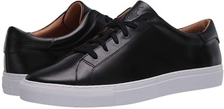 Polo Ralph Lauren Jermain II (Black Cloudy Leather) Men's Shoes