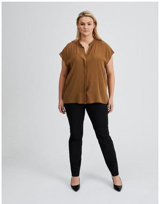 Basque Boxy Grown On Blouse