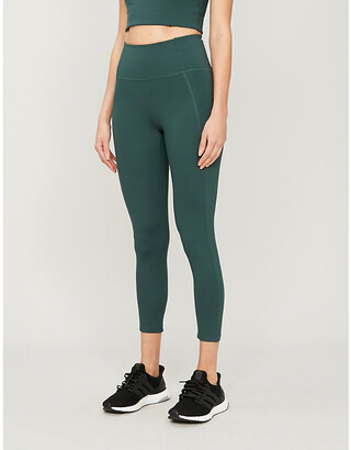 Selfridges Compressive 7/8 high-rise stretch-jersey leggings