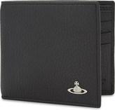 Vivienne Westwood Milano grained leather billfold wallet