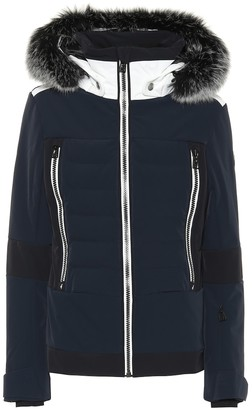 Toni Sailer Manou fur-trimmed ski jacket