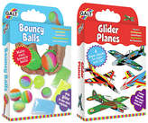 Galt Toys Bouncy Balls Glider Plane Activity Pack