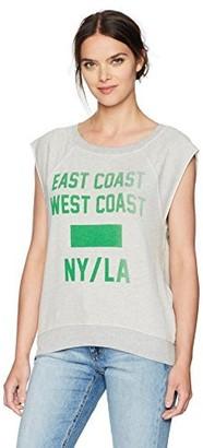 Pam & Gela Women's S/l Muscle Sweatshirt