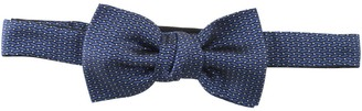 Lanvin Geometric Patterned Clip-On Bow Tie