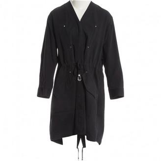 Alexander Wang Black Cotton Coat for Women