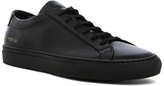 Common Projects Original Leather Achilles Low in Black.