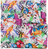 Kenzo Flyer scarf - women - Cotton/Silk - One Size