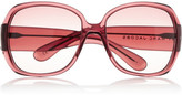 Marc by Marc Jacobs Oversized square-frame acetate sunglasses