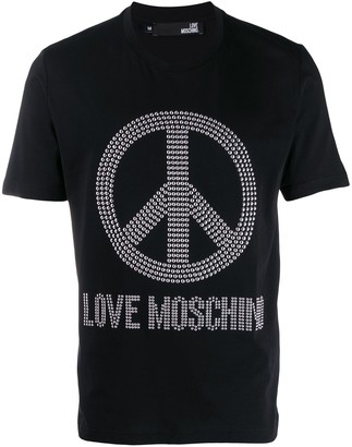 Love Moschino Peace and Love T-shirt