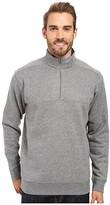 Columbia Hart Mountain II Half Zip (Charcoal Heather) Men's Jacket