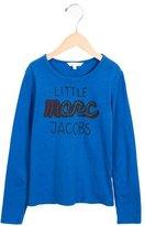 Little Marc Jacobs Girls' Logo Print Long Sleeve Top