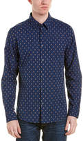 Ben Sherman Clipped Stripe Shirt