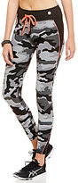 Trina Turk Recreation Camo Full Length Leggings