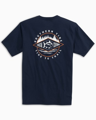 Southern Tide Diamond Tide to Trail T-Shirt