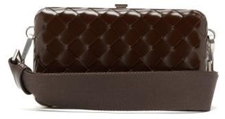 Bottega Veneta Messenger Small Intrecciato Leather Cross-body Bag - Mens - Brown