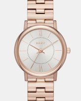 DKNY Willoughby Rose Gold -Tone Analogue Watch