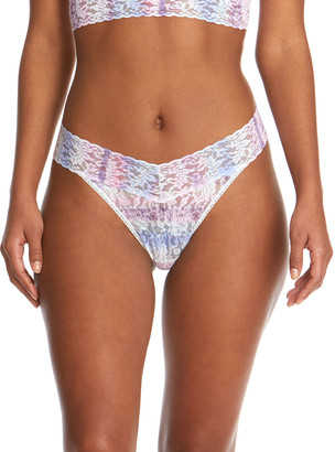 Hanky Panky Tie And True Original-Rise Lace Thong