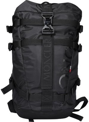 Moncler Logo Print Backpack