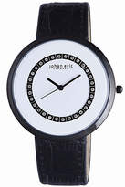 Johan Eric Vejle Quartz Black Leather Strap Watch
